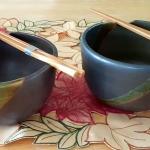 Pewter Noodle Bowls